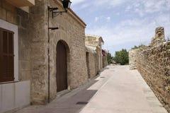 Alcudia stary miasteczko Zdjęcia Royalty Free