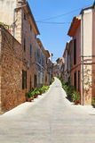 Alcudia stary miasteczko Obraz Royalty Free