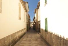 Alcudia Stary miasteczko w wyspie Majorca, Hiszpania 28 06 2017 Obraz Stock