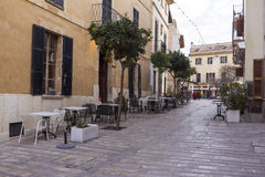 Alcudia Street Royalty Free Stock Photos