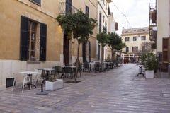 Alcudia Street Royalty Free Stock Photos