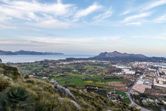 Alcudia und La Victoria lizenzfreie stockfotografie