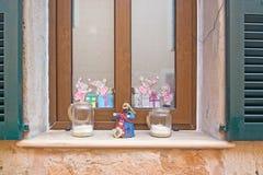 Alcudia-Weihnachtsstraßen Stockfotografie