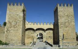 Alcudia wall Stock Image