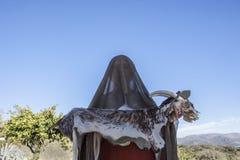 Reenactment of Iberian Goddess Ataecina ritual. Priestess with g Stock Image