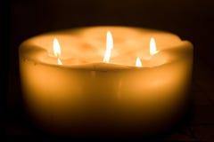 Alcune candele Fotografie Stock