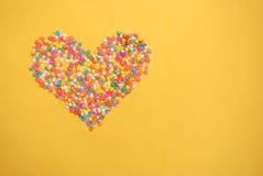 Alcune caramelle dolci che spandono pasticceria per fondo Fotografia Stock Libera da Diritti