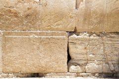 Alcune pietre antiche della parete lamentantesi Fotografia Stock
