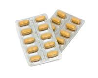 Alcune pillole immagine stock