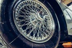 Alcuni automobile del classico dell'oggetto d'antiquariato Immagini Stock Libere da Diritti