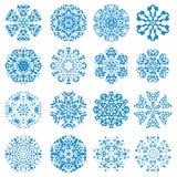 Alcuni dei miei fiocchi di neve Fotografia Stock Libera da Diritti