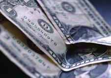 Alcuni dollari Fotografie Stock Libere da Diritti