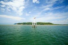 Alcuni dove vicino all'isola Krabi, Tailandia di hong Hong del KOH Fotografie Stock Libere da Diritti