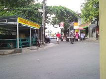 Alcuni la memoria della strada di Samarang Fotografia Stock
