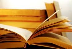 Alcuni libri Immagini Stock