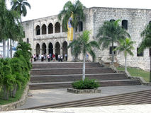 Alcázar de Colón o Columbus Alcazar Royalty Free Stock Photography