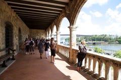 Alcázar de Colón o Columbus Alcazar Royalty Free Stock Photo