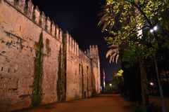 Alcázar de los Reyes Cristianos. Stock Photos