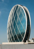 Aldar building in Abu Dhabi Royalty Free Stock Photo