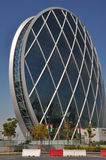 Aldar headquarters building in Abu Dhabi, UAE Royalty Free Stock Photos