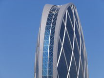 Aldar headquarters building in Abu Dhabi, UAE Royalty Free Stock Photography