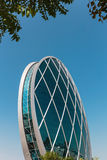 Aldar headquarters building is the first circular building of it Stock Photography