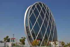 Aldar lokuje budynek w Abu Dhabi, UAE fotografia royalty free
