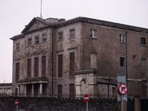 Aldborough House, great old Georgian Mansion on Portland Row, Dublin, Ireland.