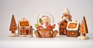 Aldea 2 de la Navidad Fotos de archivo libres de regalías