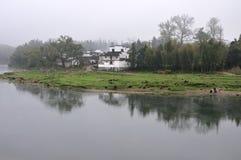 Aldea 4 de China Fotografía de archivo