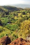 Aldea africana Foto de archivo libre de regalías