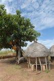 Aldea africana Imagen de archivo libre de regalías