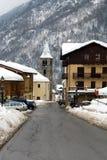 Aldea alpestre, Italia foto de archivo libre de regalías