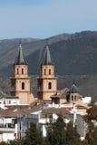 Aldea andaluz Orgiva, España Imagen de archivo libre de regalías