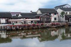Aldea antigua en China fotografía de archivo libre de regalías