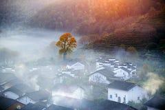 Aldea china Foto de archivo libre de regalías