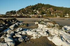 Aldea costera Imagenes de archivo