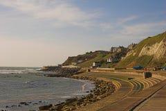Aldea costera Fotografía de archivo libre de regalías