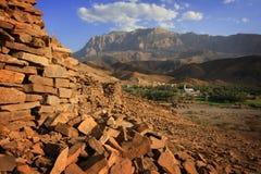 Aldea de Ayn del Al Imagen de archivo