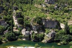 Aldea de Castelbouc Imagen de archivo libre de regalías