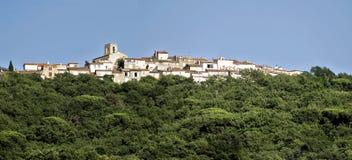 Aldea de Gassin en Francia Imagen de archivo libre de regalías