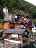 Aldea de Hallstatt en Austria Fotografía de archivo
