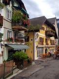 Aldea de Hallstatt en Austria Foto de archivo libre de regalías