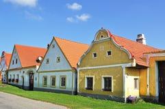 Aldea de Holasovice, República Checa imagenes de archivo