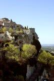 Aldea de la cima de la montaña Foto de archivo libre de regalías