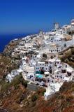 Aldea de la isla de Santorini, Oia fotos de archivo libres de regalías