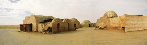 Aldea de las Guerras de las Galaxias Imagen de archivo