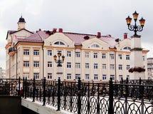Aldea de los pescados en Kaliningrad Imagen de archivo