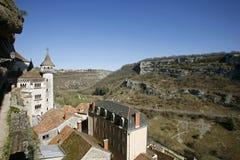 Aldea de Rocamadour Imágenes de archivo libres de regalías