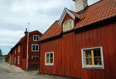 Aldea de Suecia fotografía de archivo libre de regalías